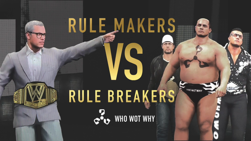 RULE MAKERS VS RULE BREAKERS
