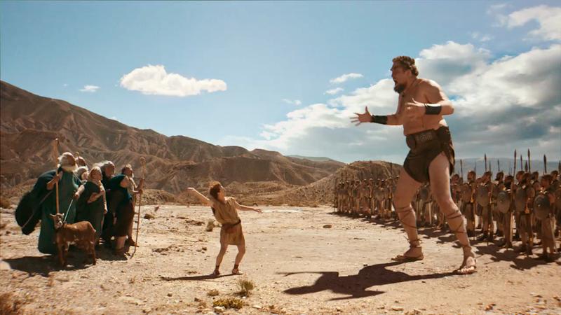 Lucozade - 'David vs Goliath (The Prequel)