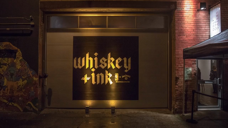 Jack Daniel's x NBA: Whiskey and Ink