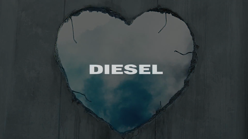 "Diesel ""Make Love Not Walls"""