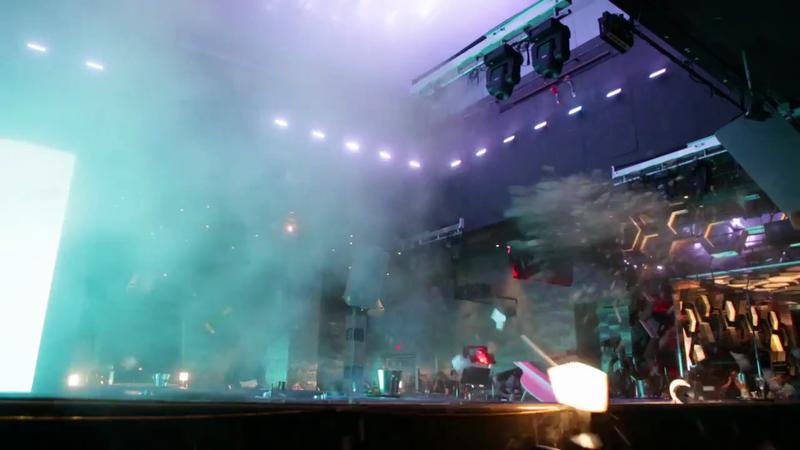 Palms Casino BTS Explosion
