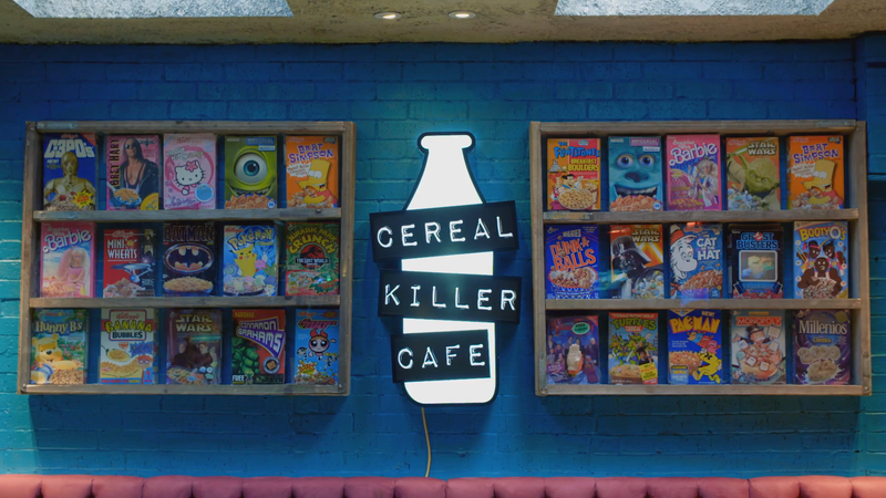 Siblings Work: Cereal Killer Cafe