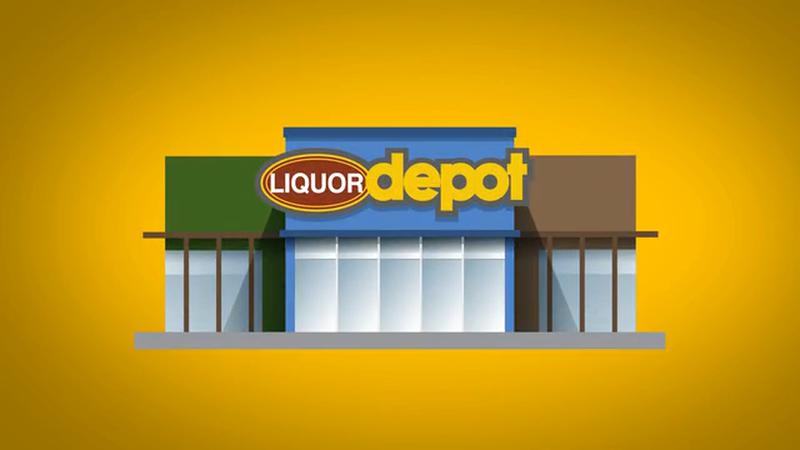 Liquor Depot Brand Spots