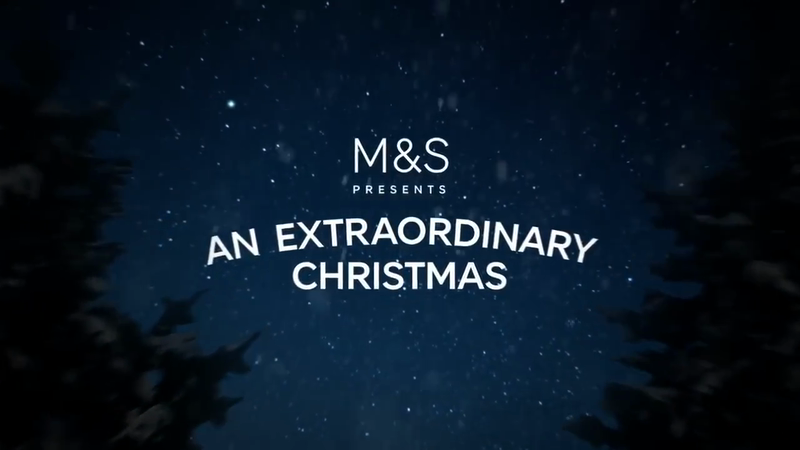 M&S 'An Extraordinary Christmas'