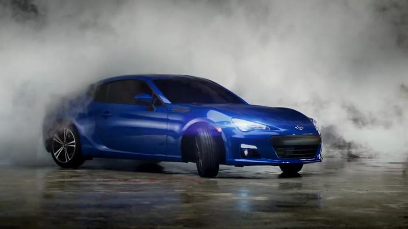 Subaru BRZ Scorched