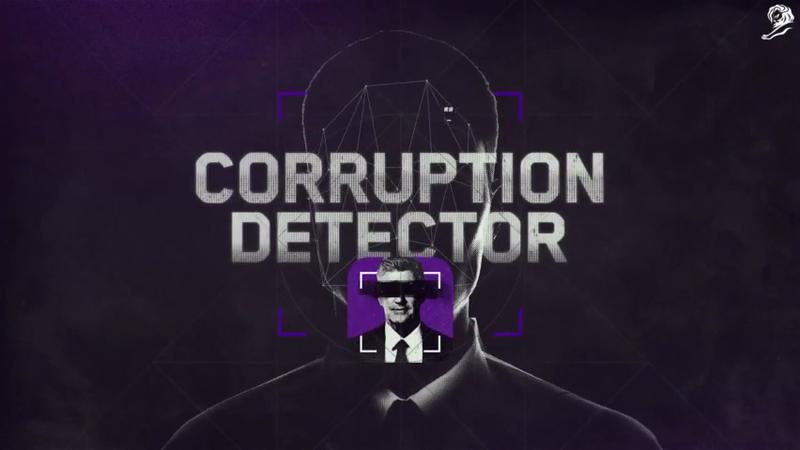 Corruption Detector - Cannes Mobile Lions Grand Prix