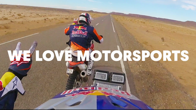 Red Bull - We Love Motorsports