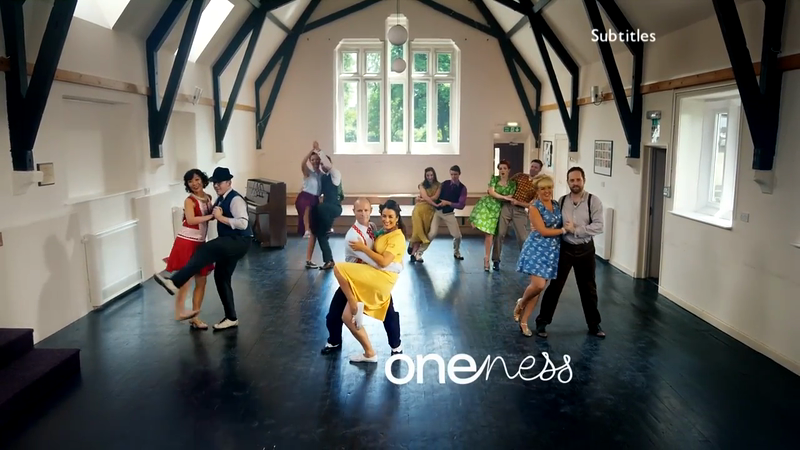 BBC 'Oneness' Ident - Swing Dancers