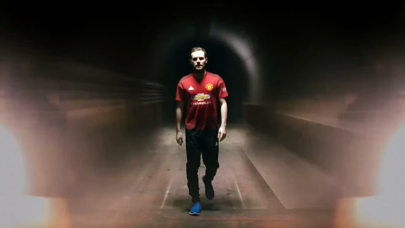 Adidas / Manchester United - 2018/19 Home Kit