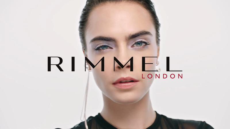 Rimmel London TVC starring Cara Delevigne