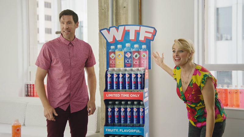 """Sparkling Ice: """"WTF (What The Flavor)"""""""