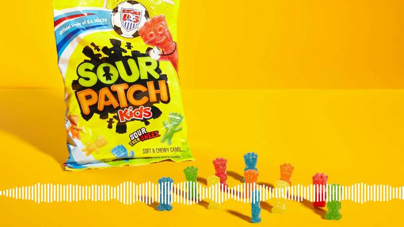 Mondelēz - Sour Patch Kids Gum