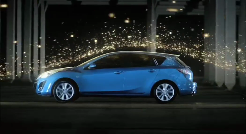 Mazda 3 'Light Moves'