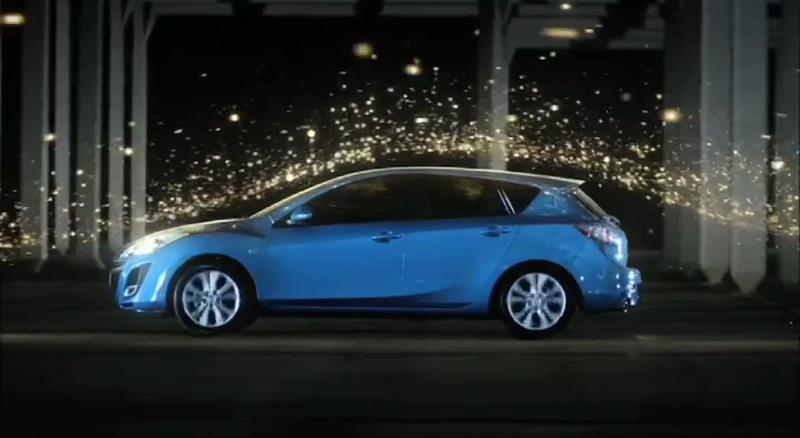 Mazda 3 'Light Moves'