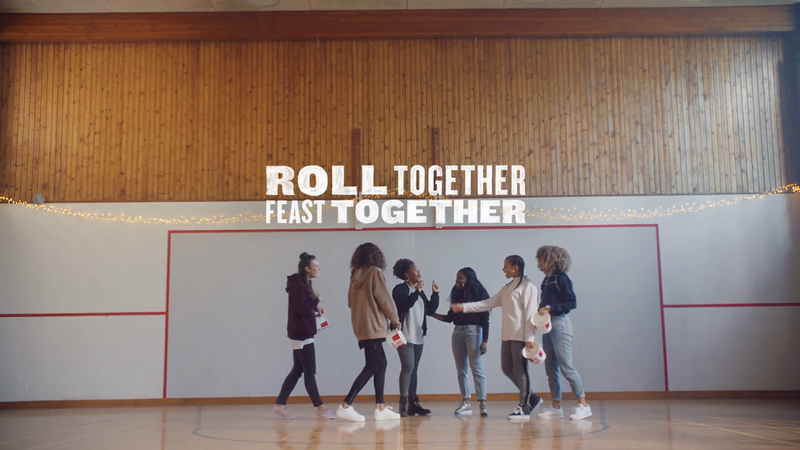 KFC 'Roll Together, Feast Together'