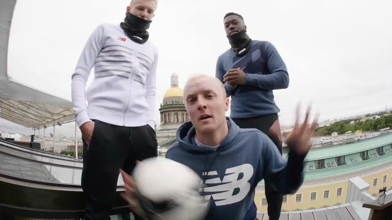 New Balance Football - Make it to Moscow trailer