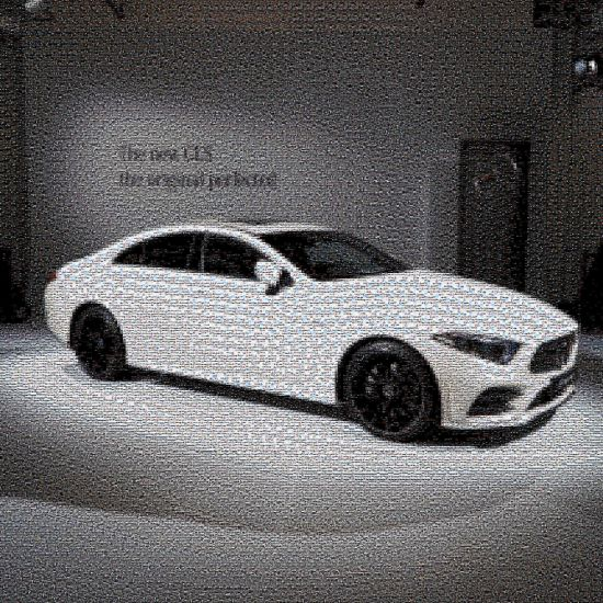 Mercedes-Benz - 3 M(illion)osaic