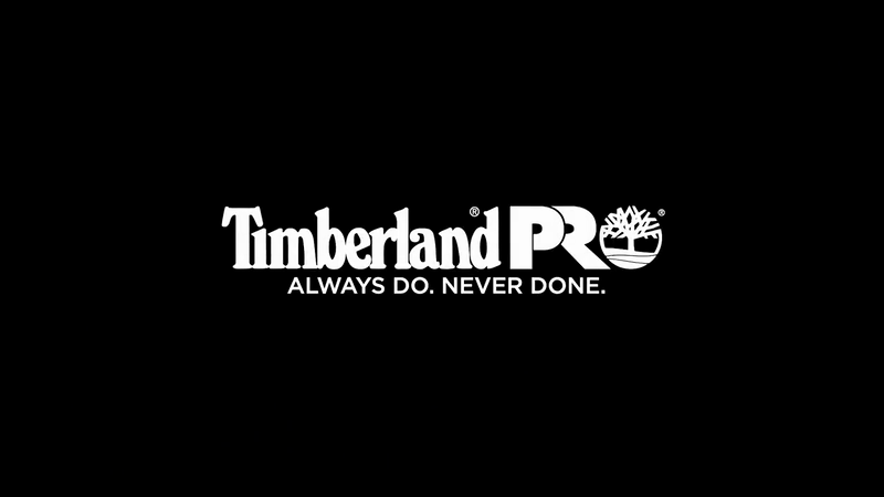 "TIMBERLAND PRO ""ALWAYS DO. NEVER DONE."""