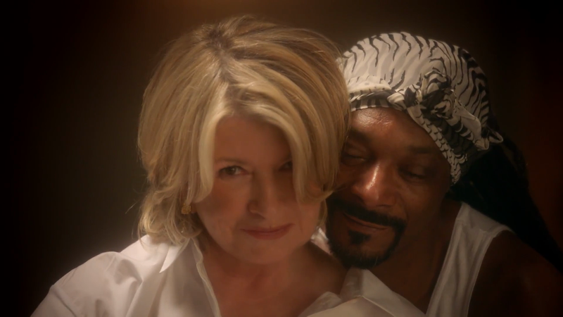 Martha + Snoop Messy Ghost