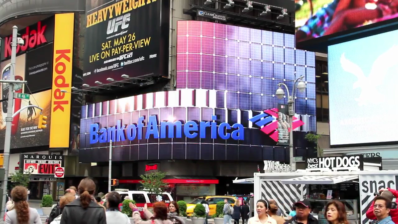 Bank of America Times Square