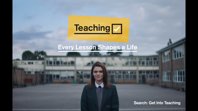 DfE - Every Lesson Shapes a Life