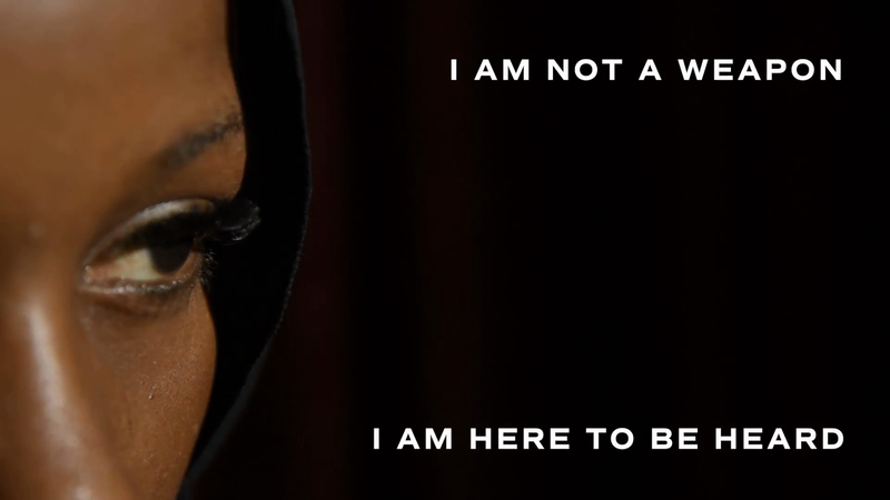 'I Am Not A Weapon'