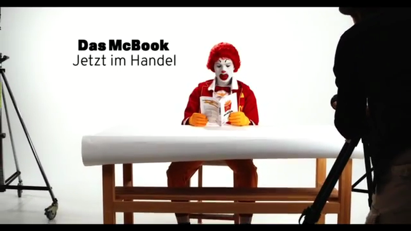 McDonald's McBook promotion video