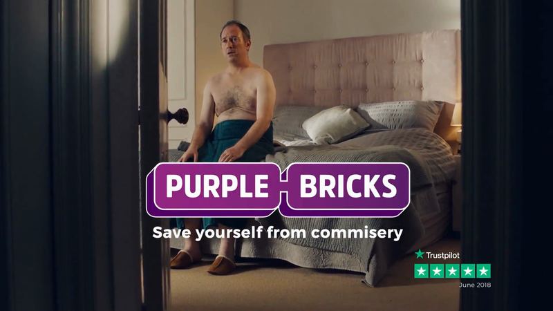 Snap LDN - Purple Bricks - Bedroom