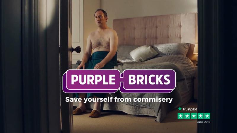 Snap LDN - Purple Bricks - Bedroom