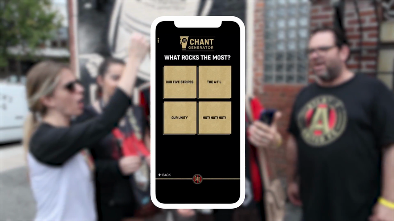 MLS Cup: Atlanta United - The Chant Generator