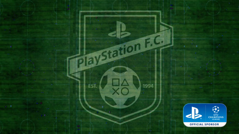 Playstation UEFA Champions League Sponsorship Ident