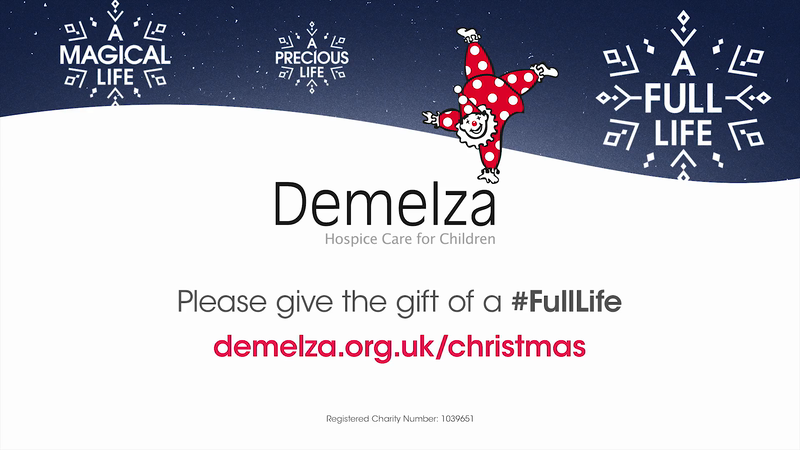 Demelza 2018 Christmas Appeal