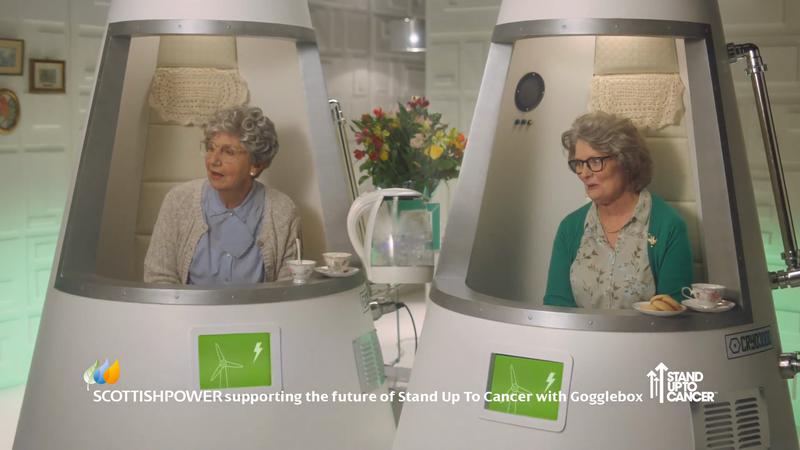 ScottishPower - Gogglebox Sponsorship for SU2C - Zorbing