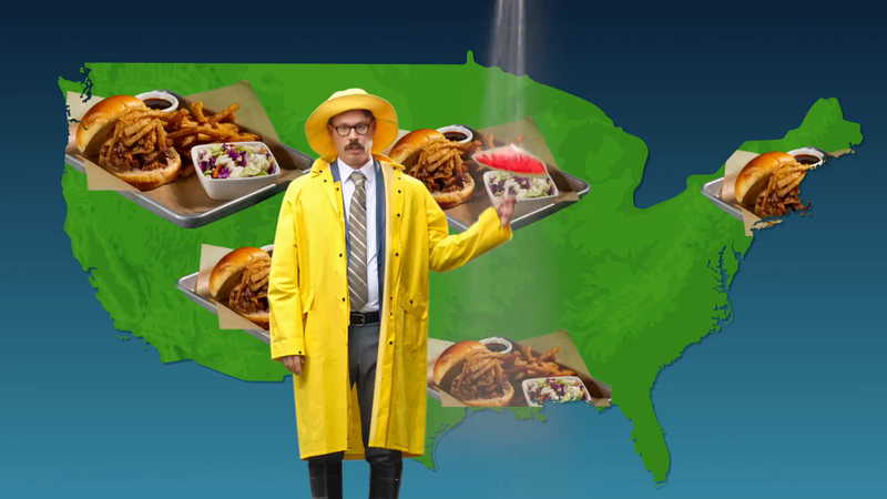 BJ's - Foodie Forecast 'Rain'
