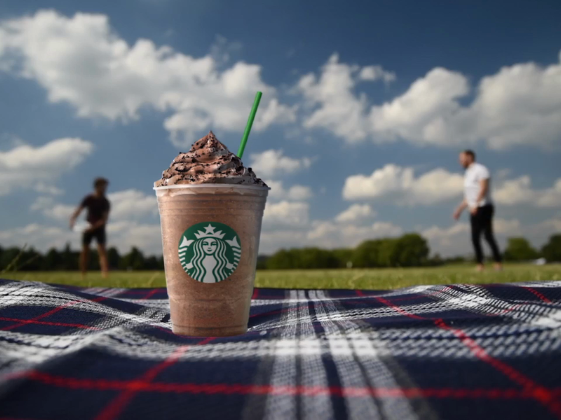 Starbucks Frappacino 4 x Cinemagraphs