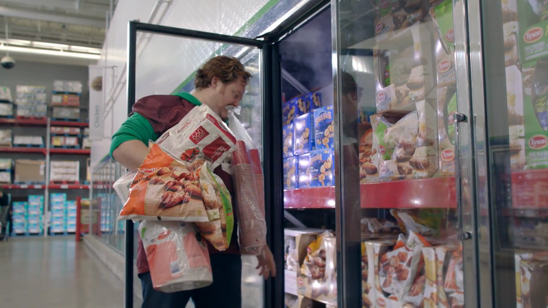 Shopping for Playoff Party Food is Its Own Sport in New Ad for Sam's Club and Tyson Foods
