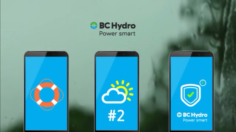 BC Hydro Dynamic Messaging