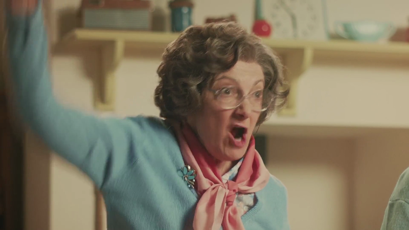 Aunt Bessie- Us or Them TVC