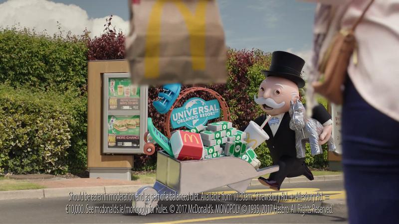 McDonald's 'Monopoly Prize Mania'