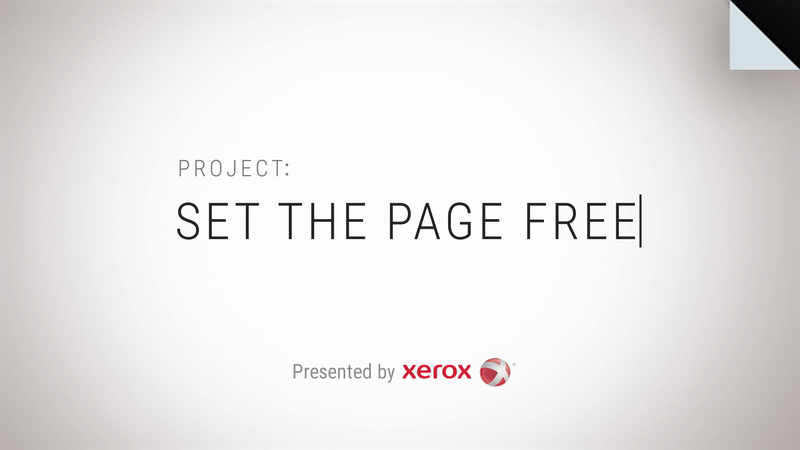 Xerox and World-Renowned Authors Set the Page Free in Collaborative Book Project