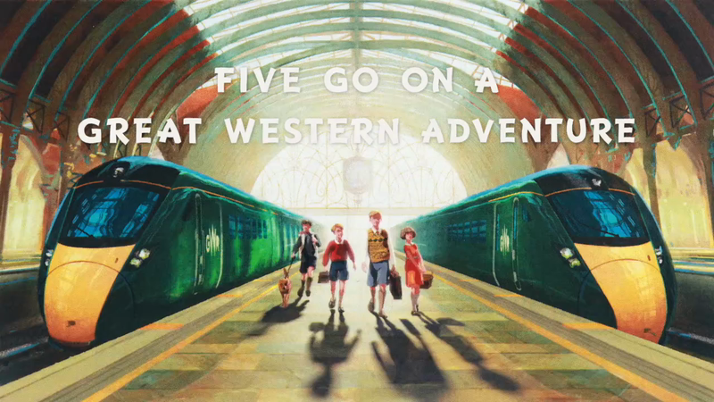 Great Western Railway recruit the Famous Five for Friends Electric directed adventure