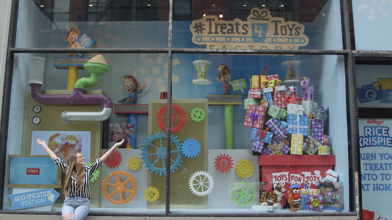 Kellogg's Rice Krispies Interactive Holiday Display