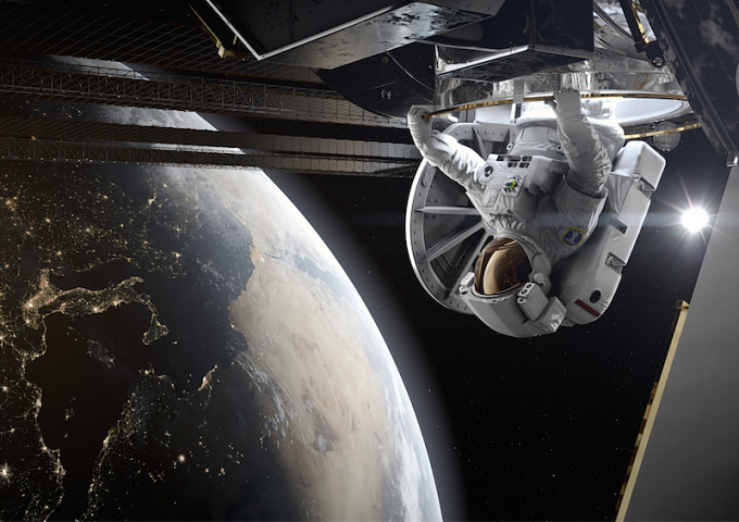 Home: A VR Spacewalk