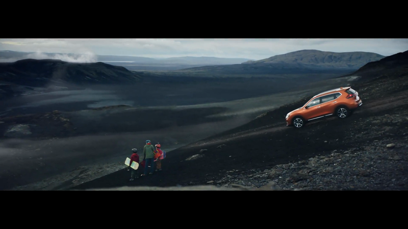"Nissan x-trail ""Volcano"" directed by Reynald Gresset"