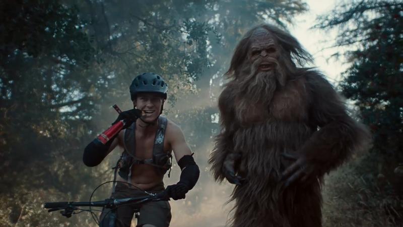 Jack Link's Runnin' with Sasquatch Mountain Biking