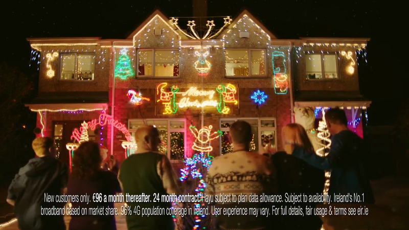 eir - Christmas Lights - TVC