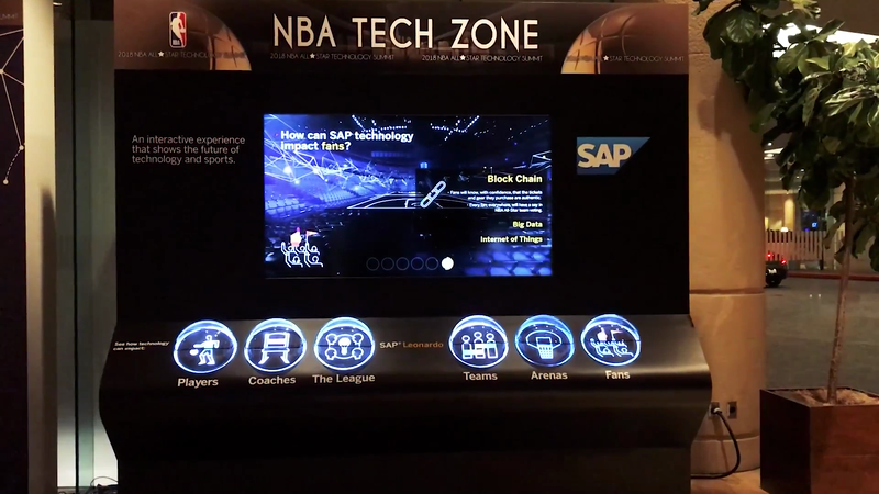 "SAP - ""Change the Game"" NBA All Star Game Activation"