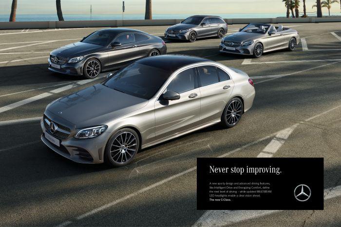 Mercedes C-Class - Print