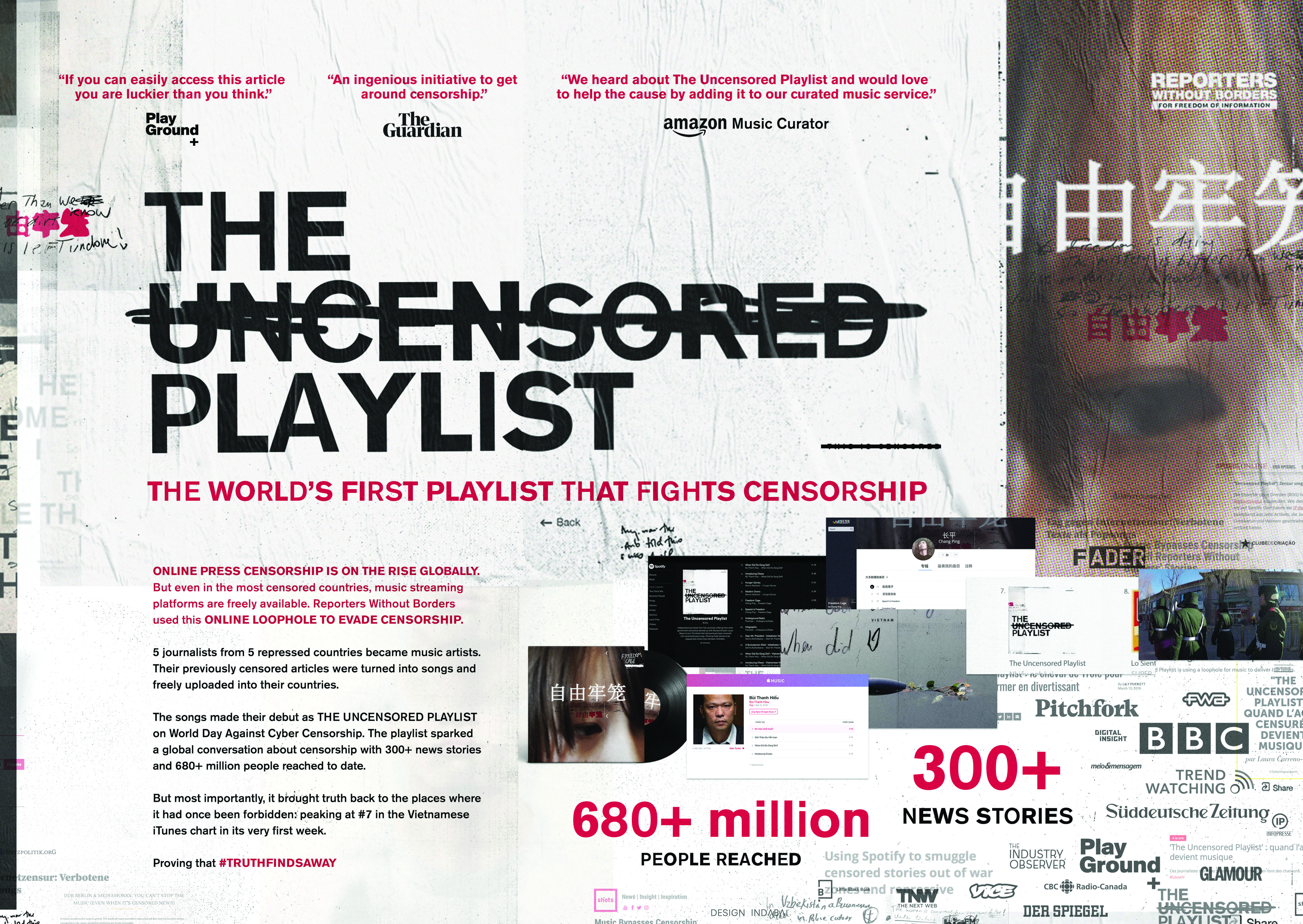 The Uncensored Playlist-support