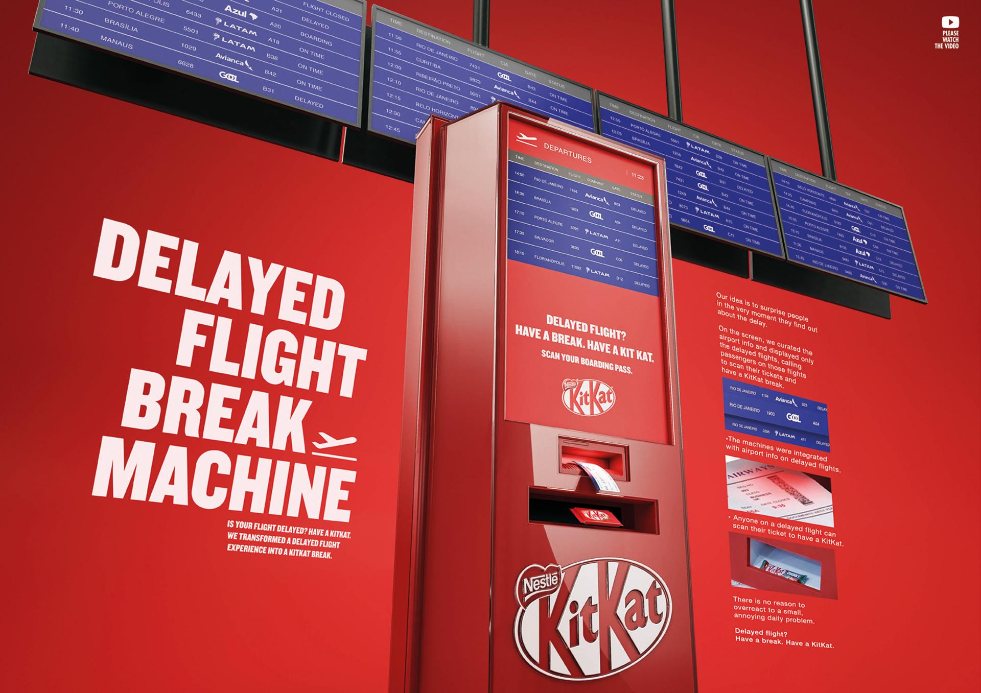 KitKat Delayed Flight Machine-support